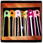 Custom Artwork Designer Diaper Pin Painting