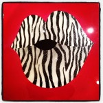 Custom Artwork Zebra Lips