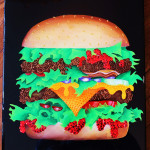 Custom Artwork Cheeseburger