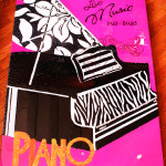 Custom Artwork Jazz Piano