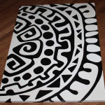 Custom Artwork Mayan Abstract