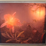Custom Artwork Orchid Light Box