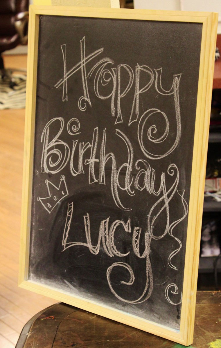 Happy Birthday Lucy A Perfect Gift